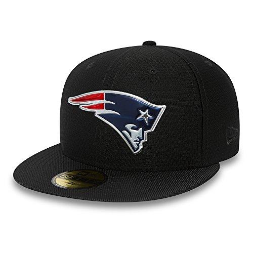 New Era - New England Patriots - 59fifty Basecap - Nfl 2017 Black Collection - Black - 7 - 56cm (M)