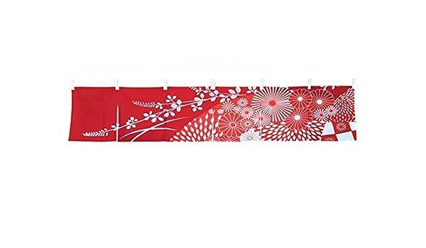 Black Temptation Noren Rideau de Porte D/écoration Parfaite pour Le Bar /à Sushi Japonais