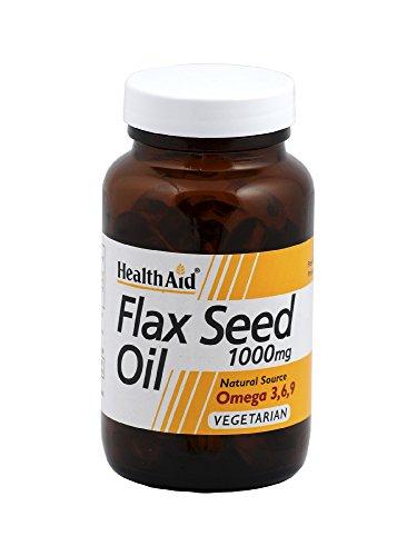 HealthAid Flaxseed Oil 1000mg - 60 Capsules