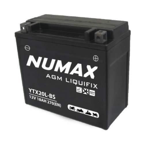 Numax YTX20L-BS MotorBatterie Moto