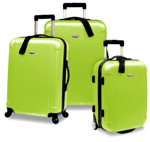 travelers-choice-freedom-3-piece-lightweight-hard-shell-spinning-rolling-luggage-set-apple-green