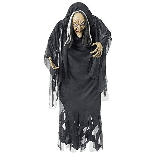 Widmann - Dekofigur Hexe mit Buckel