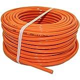 PUR-Leitung H07BQ-F 3x1,5 bis 3x2,5 Baustellenkabel, Industriekabel geeignet für den Außenbereich 5-50m (3x1,5; 10m)