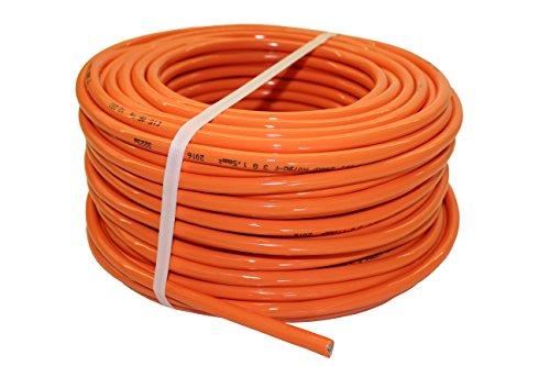PUR-Leitung H07BQ-F 3x1,5 bis 3x2,5 Baustellenkabel, Industriekabel geeignet für den Außenbereich 5-50m (3x1,5; 25m)