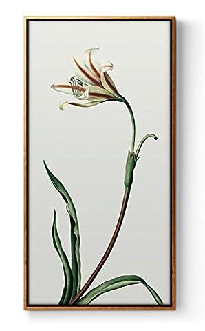 peintures minimalistes modernes fleurs peinture décorative peinture décorative la version entrée salon couloir vertical de tableaux simples , B , 40*80