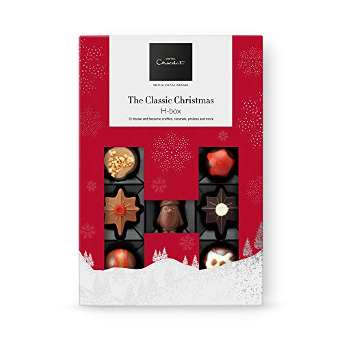 Hotel Chocolat The Classic Christmas H-Box, 160 g