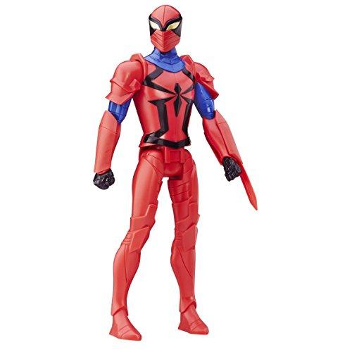 Ultimate Spider-Man VS. Le Sinistre 6 Titan Hero Série Spyder Knight Action Figure 30,5 cm