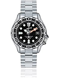 Chris Benz Deep 500m Automatik CB-500A-S-MB Automatic Mens Watch Diving Watch