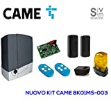 CAME - KIT AUTOMATISME PORTAIL COULISSANT 230V BXV400K CAME 8K01MS-003 - CAM-8K01MS-003