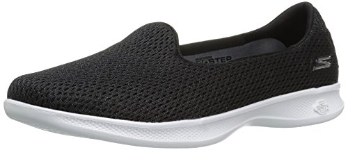 Skechers Go Step Lite Origin Womens Scarpe - SS17 Black/White Lux