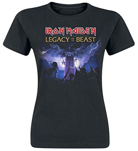 Iron Maiden Legacy Army Camiseta Mujer Negro M