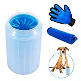 Dog Paw Cleaner, Paw Cleaner For Pet Portable Pet Cleaning Brush Cup Dog