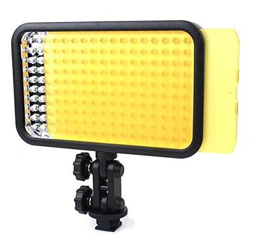 Preisvergleich Produktbild Gowe 2x LED Video Light + Akku Pack + Ausgang Akku Kammer + 2x LX Power Kabel für Fotografie