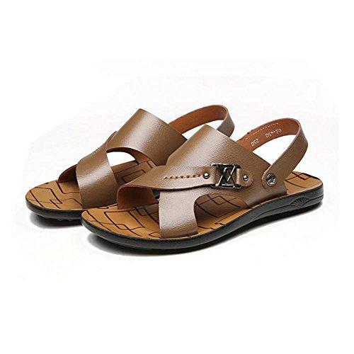Man's Fashion Sommer Cool Komfort Dual Zweck Sandalen Khaki