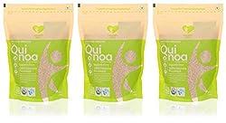 Nourish You Organic Quinoa, 500 grams (Value Pack of 3)