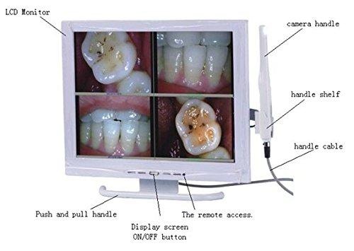 Marke New orc-01a Multimedia-Dental Kamera mit Sony HAD CCD Bildsensor und Farbe 38,1cm 4: 3Monitor (4 Ccd-kameras)