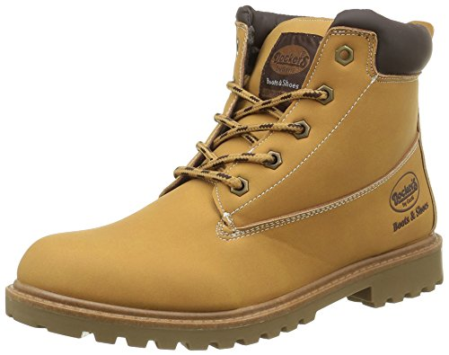 dockers-by-gerli-unisex-kinder-39rg601-610910-combat-boots-gelb-golden-tan-910-34-eu