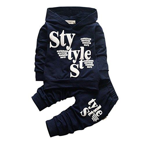 BOBORA-Bambino-ragazzi-lettera-stampa-manica-lunga-Felpa-con-cappuccio-camicie-e-Pantaloni-bambini-vestiti-set-1-5-anni
