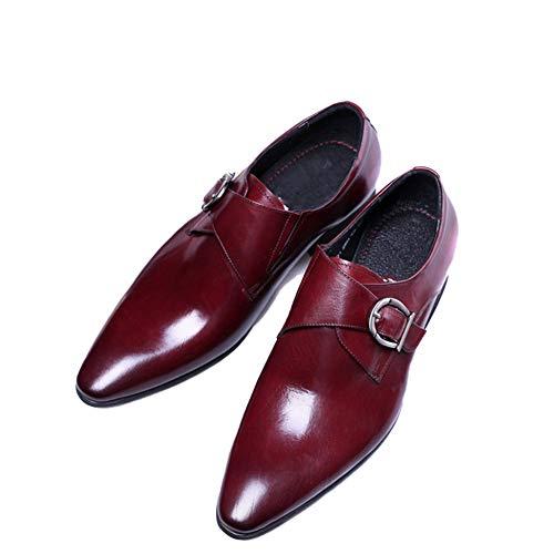 Scarpe da Uomo da Uomo Fashion Flat in Pelle Scarpe comode Scarpe da  Ufficio da Uomo 552ba7d2a81