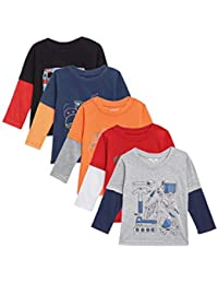 Kuchipoo Boys' & Girls' T-Shirt (Pack of 5)