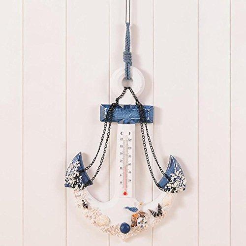 Groß Woody Anker Thermometer AnschließEn Das Mittelmeer Amerikanischer Stil LäNdlich Stil Mode Kunsthandwerk