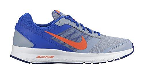 Nike Air Relentless 5, Chaussures de Sport Homme, Taille Gris / Naranja / Azul (Bl Gry/Ttl Crmsn-Rcr Bl-Dp Ryl)
