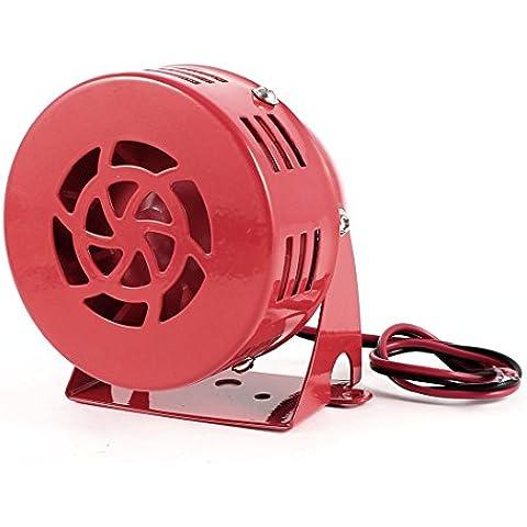 Alarma Contra Incendios Sistema De Seguridad Eléctrico Mini Sirena Zumbador DC 24V