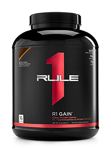 Rule1 R1 Gain (5lbs) Chocolate Peanut Butter Ohne Pfand, 2270 g -