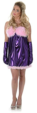 Austin Powers Costume Fembots - Baby Doll Ladies Fembot Austin Powers Fancy