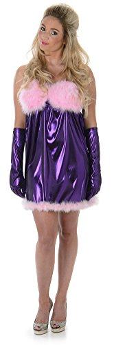 bot Austin Powers 60s Frauen Erwachsenes Sechzigerjahre Kostüm (Large European 44 - 46 (UK 16 - 18)) (Austin Powers Kostüm Frauen)