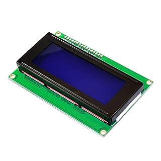 KEYESTUDIO I2C LCD 20 x 4 2004 LCD Display Modul für Arduino Raspberry Pi Weiß Buchstaben auf Blau