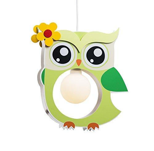 elobra-bambini-lampada-plafoniera-lampadario-da-soffitto-gufo-cameretta-legno-colore-verde-lime-a-