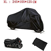 Funda Moto 190T Cubierta Impermeable de Motocicleta Protector Cubierta para Moto/Motocicleta Funda Cubre Moto Impermeable