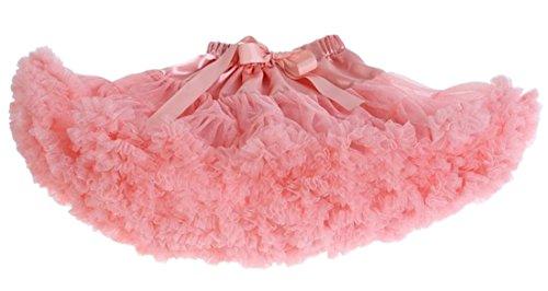 Aivtalk Mädchen Petticoat Tanz Unterrock Ballettrock Baby Kinder Ballett Tutu Kostüme Rock (Moderne And Kostüme Rock Roll)