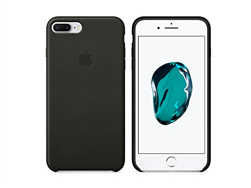 etuo Apple iPhone 7 Plus - Hülle, Silikon, Gummi Schutzhülle Apple Silicone Case - Black