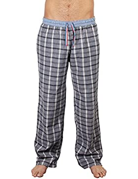 Luca David Olden Glory Hombres Pantalones pijama a cuadros