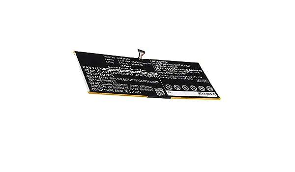 Zenpad Z300 K00A Accu Remplacement 6700mAh 0B200-01580000 Batterie de Rechange C12P1301 Z300C Set de Micro vissage ME302C subtel/® Batterie Premium Compatible avec ASUS Memo Pad FHD 10
