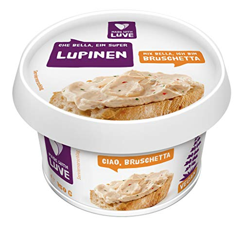 Made With Luve - Aufstrich aus Lupinen Bruschetta vegan - 150g