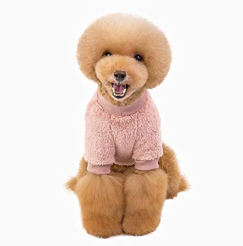 Hunde Boxer Niedliche Kostüm - Hundebekleidung für Kleine Hunde Warm Niedliche Fleecemantel Hundemantel Hundepullover Haustier Bekleidung Weich Puppy Hund Jacke Fleece Hunde Pullover TWBB