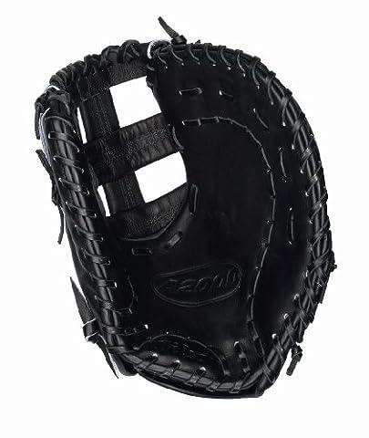 Wilson A2000Fastpitch Modell Single Post Web First Baseman Glove (schwarz, 12.25-inch), schwarz
