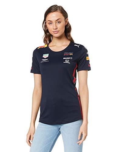 Red Bull Racing Official Teamline T-Shirt, Blau Damen Medium T-Shirt, Racing Aston Martin Formula 1 Team Original Bekleidung & Merchandise