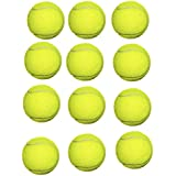 Goldiluxe Light Weight Cricket Tennis Ball (Pack of 12)