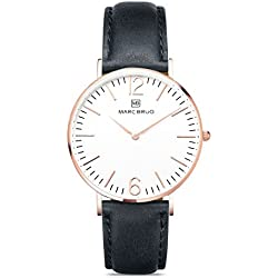 Marc Brüg Ladies' Minimalist Watch Davos 36 Rosegold
