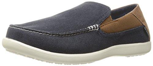 crocs Herren Santa Cruz 2 Luxe M Slipper Blau (Navy/Hazelnut)
