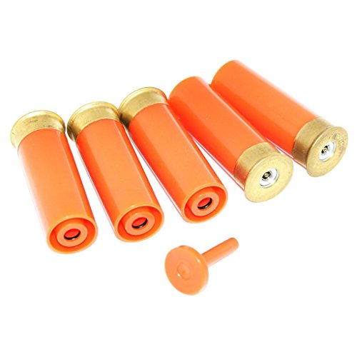 Airsoft Softair 5pcs Gas Shell für M870 Pumpe Action Schrotflinte Orange -