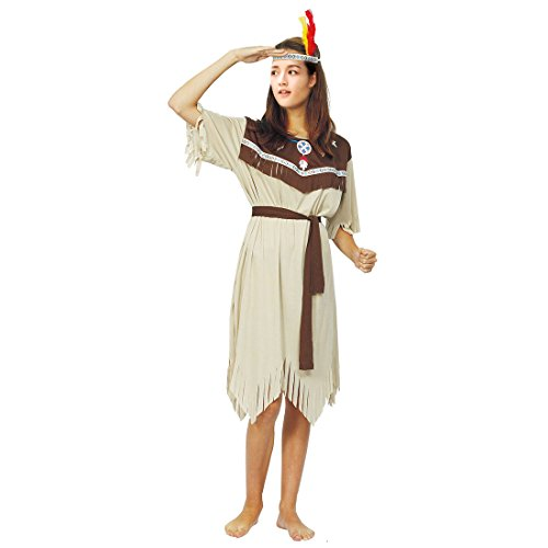 Partiss Damen Herren Indische Kleidung Erwachsenen Cosplay Halloween Kostuem,One Size,Women