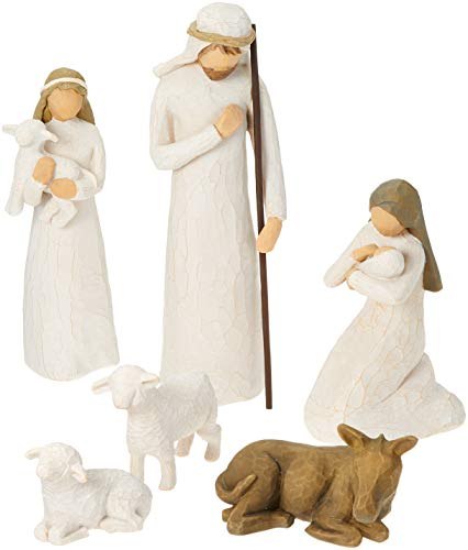 Willow tree 26005 figurine natività, resina, design di susan lordi