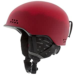 K2 Rival Pro Helmet Ski Snowboard Head Protection Safety - New 2014 (Red, S)