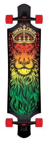 Santa Cruz Skateboard Longboard Lion God Drop, 10.0 x 40.0 Zoll, 11112867