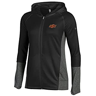 Under Armour Full-Zip NCAA Women's Tech Terry Lighweight Hood, Black, XXL